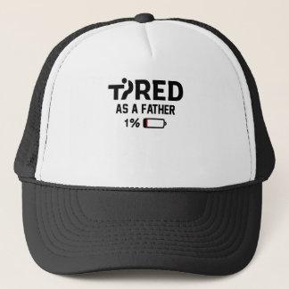 Müde als Vater 1% Truckerkappe