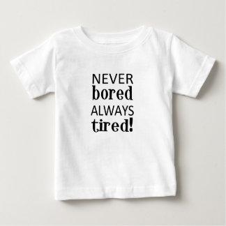 müde baby t-shirt