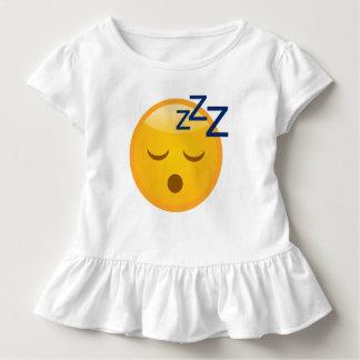 Müde Schlafenszeit Emoji Kleinkind T-shirt