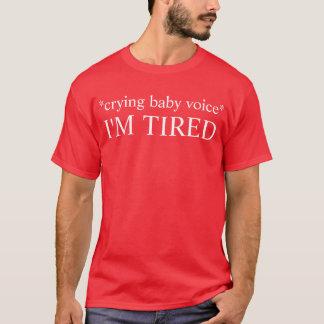 müdes Baby T-Shirt