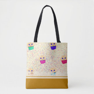Muffinrüsche-Drucktasche Tasche