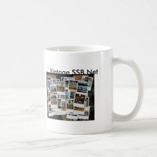 mug_collage, mug_gkzcollage, Vintages SSB Netz, V… Kaffeetasse