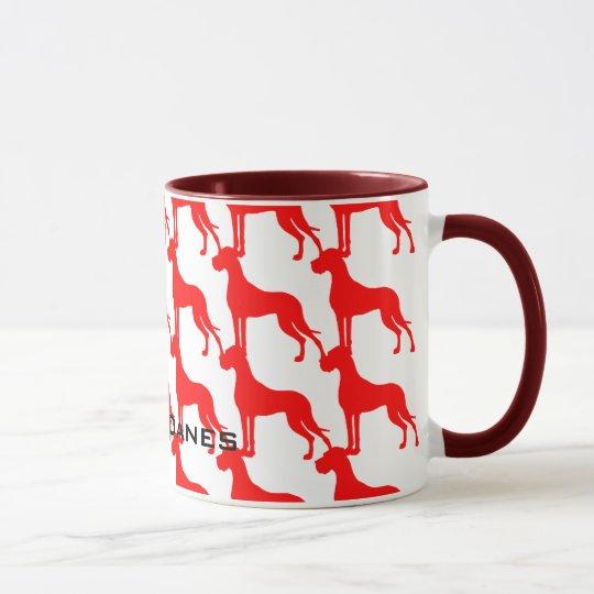 Mug Great Danes Tasse