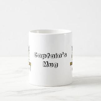 Mug Kapitäns doppelter Charakter Kaffeetasse