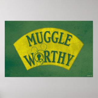 Muggle angemessen poster