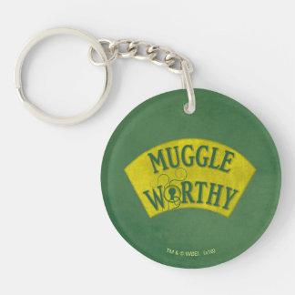 Muggle angemessen schlüsselanhänger