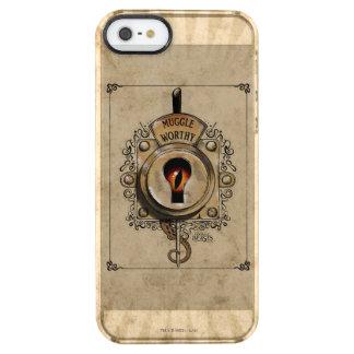 Muggle angemessener Verschluss mit dem Durchsichtige iPhone SE/5/5s Hülle
