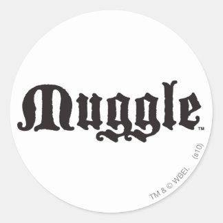 Muggle Aufkleber