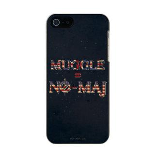 Muggle = NO-Major Incipio Feather® Shine iPhone 5 Hülle
