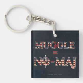 Muggle = NO-Major Schlüsselanhänger