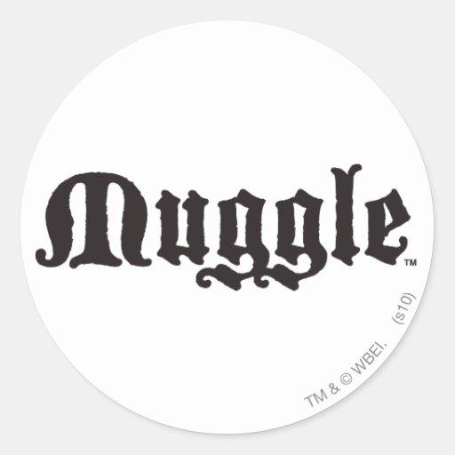 MUGGLE™ runder Aufkleber
