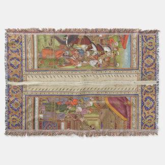 Mughal Inder-Indien-Islam islamische moslemische Decke