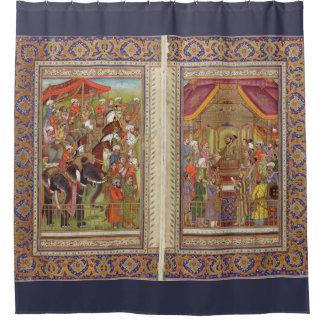 Mughal Inder-Indien-Islam islamische moslemische Duschvorhang