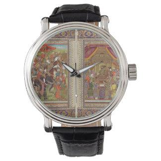 Mughal Inder-Indien-Islam islamische moslemische Uhr