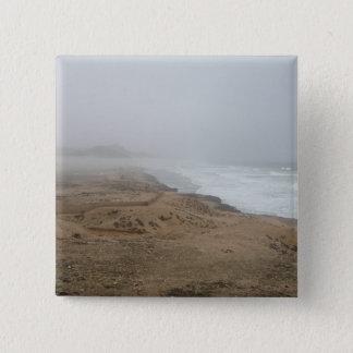 Mughsayl Strand (Salalah Oman) Quadratischer Button 5,1 Cm