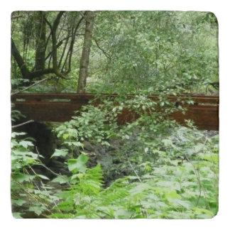 Muir Holz-Brücke I Töpfeuntersetzer