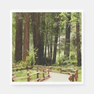 Muir Holz-Weg I Papierserviette