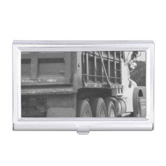Müllcontainer-LKW-Visitenkarte-Kasten Visitenkarten Dose