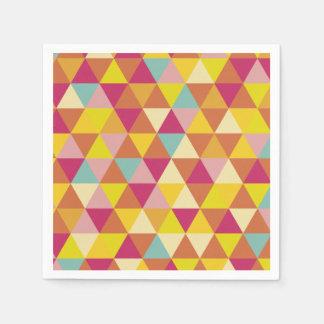 Multi Dreiecke Farbe des Polygons in der Serviette
