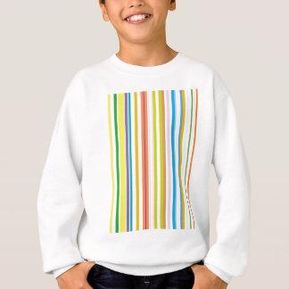 Multi farbige Streifen Sweatshirt