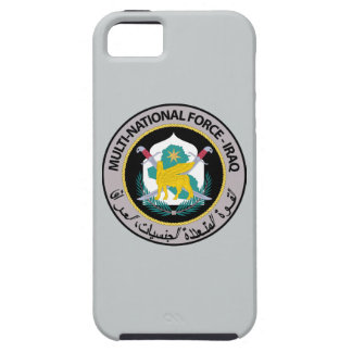 Multi nationale Kraft - der Irak Tough iPhone 5 Hülle