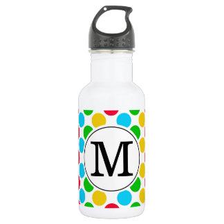 Multi Punkt-kundenspezifisches mit Monogramm Edelstahlflasche