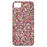 Multi Sequins-Rot-Schein-Glitter Bling iPhone 5 Hülle Fürs iPhone 5