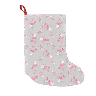 Multi Strumpf der Flamingo-Liebe einseitig Kleiner Weihnachtsstrumpf