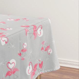 Multi Tischdecke der Flamingo-Liebe