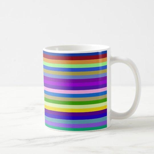 multicolor geometric design kaffeetasse