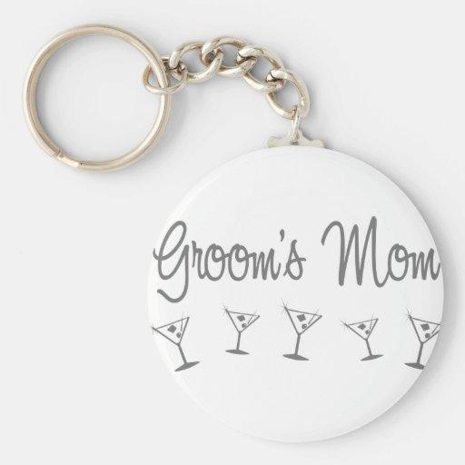 MultiMartini-GroomsMom-grau Schlüsselanhänger