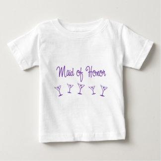 MultiMartini-MaidHonor-Purp Baby T-shirt