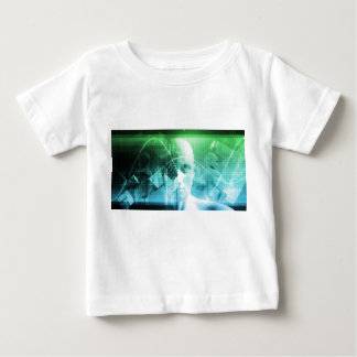 Multimedia-Technologie-Digital-Gerät-Informationen Baby T-shirt