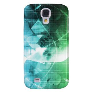 Multimedia-Technologie-Digital-Gerät-Informationen Galaxy S4 Hülle