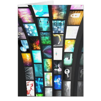 Multimedia-Technologie-Digital-Gerät-Informationen Karte