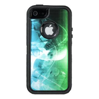 Multimedia-Technologie-Digital-Gerät-Informationen OtterBox iPhone 5/5s/SE Hülle