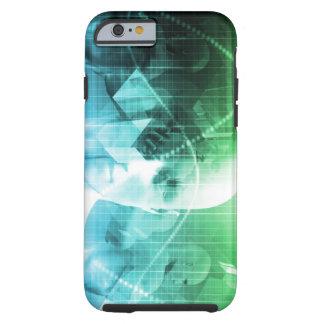 Multimedia-Technologie-Digital-Gerät-Informationen Tough iPhone 6 Hülle