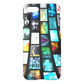 Multimedia-Technologie-Gerät-Informationen iPhone 8/7 Hülle