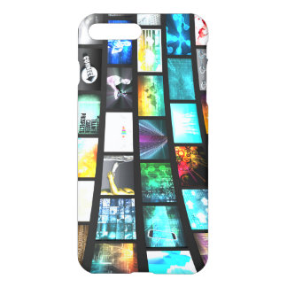 Multimedia-Technologie-Gerät-Informationen iPhone 8 Plus/7 Plus Hülle