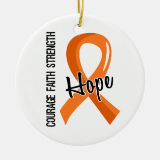 Multiple Sklerose der Mut-Glauben-Hoffnungs-5 Ornamente