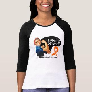Multiple Sklerose nehmen einen Stand T-shirt