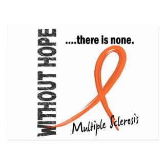 Multiple Sklerose ohne Hoffnung 1 Postkarte
