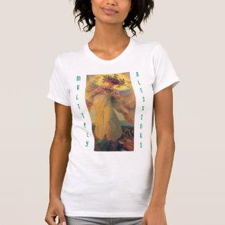 Multiplizieren Sie das Trägershirt der Segenfrauen T-Shirt