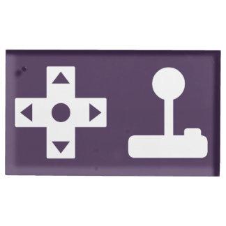 Multispielermodus im lila Tabellen-Karten-Stand