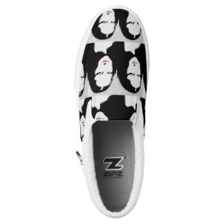 Mun Liisa Zipz Beleg auf Schuhen Slip-On Sneaker
