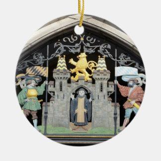 München, Deutschland Rundes Keramik Ornament