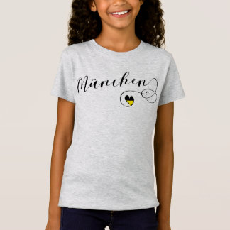 München-Herz-T-Shirt, München Bayern T-Shirt