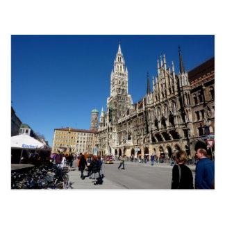 München-Quadrat (Marienplatz) Postkarte