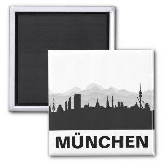 München Skyline Kühlschrank Magnet Magnete
