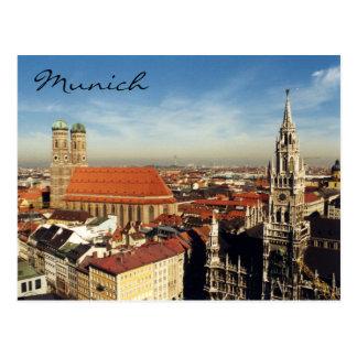 München-Stadt Postkarte